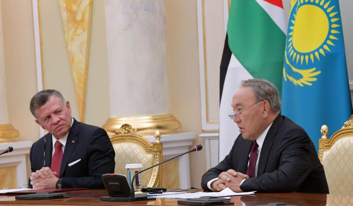 назарбаев и абдалла II