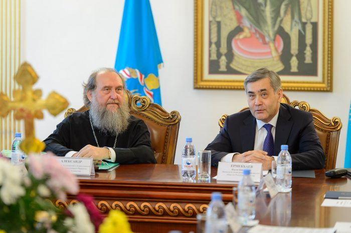 ермекбаев и митрополит