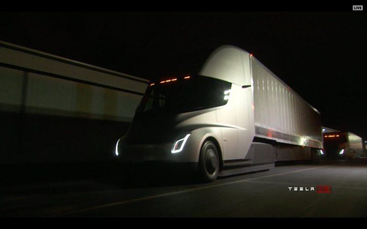 Tesla Semi. Источник: Twitter