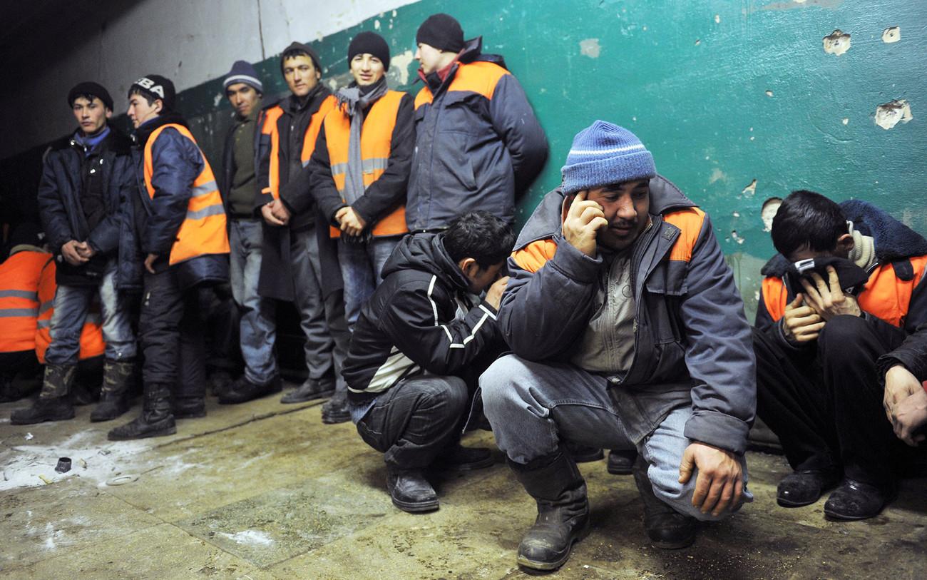 никогда фото таджиков в россии скажете