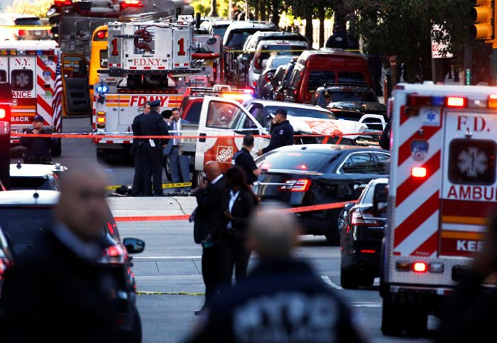 Уроженец Узбекистана скриком «Аллах Акбар» совершил теракт вНью-Йорке