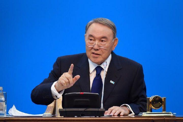 "Нурсултан Назарбаев. Фото: ""Казинформ"""