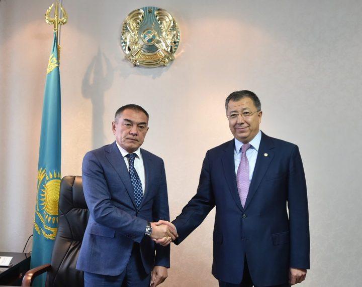 Алипбек Усербаев и Жансеит Туймебаев