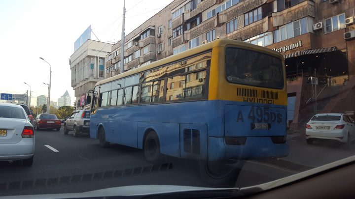 Автобус маршрут №127 старый