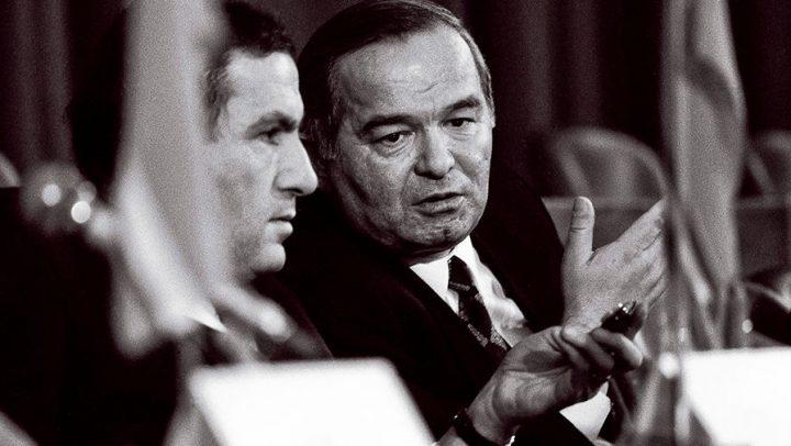 Ислам Каримов и президент Армении Левон Тер-Петросян, 1991 год. Фото: Reuters