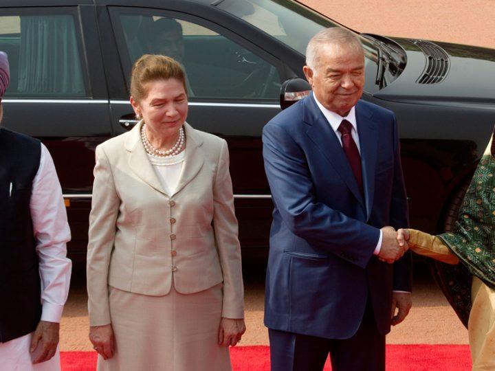 Ислам Каримов с супругой Татьяной