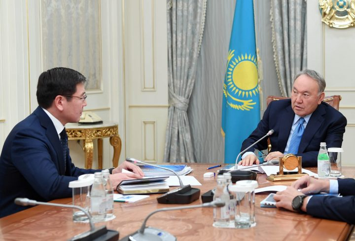 Назарбаев и Жумагалиев