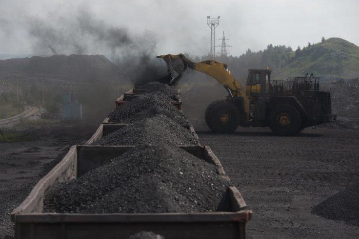 Уголь, вагоны с углем