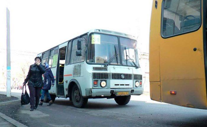 автобус петропавловск