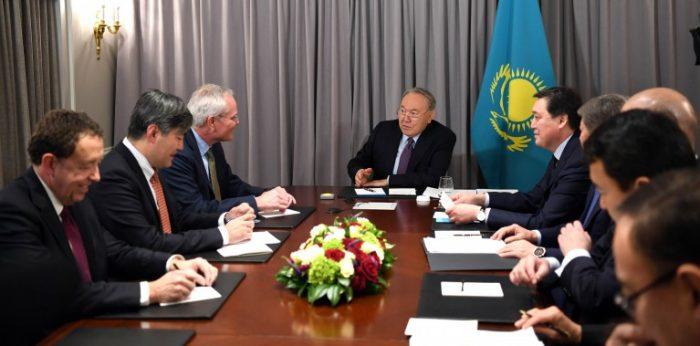 назарбаев и вудс