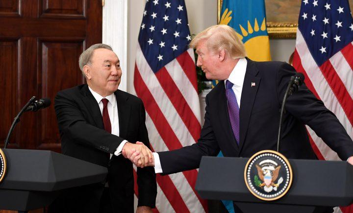 Назарбаев Трамп