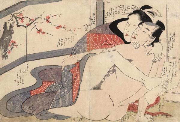 Секс и наслаждение в японском искусстве