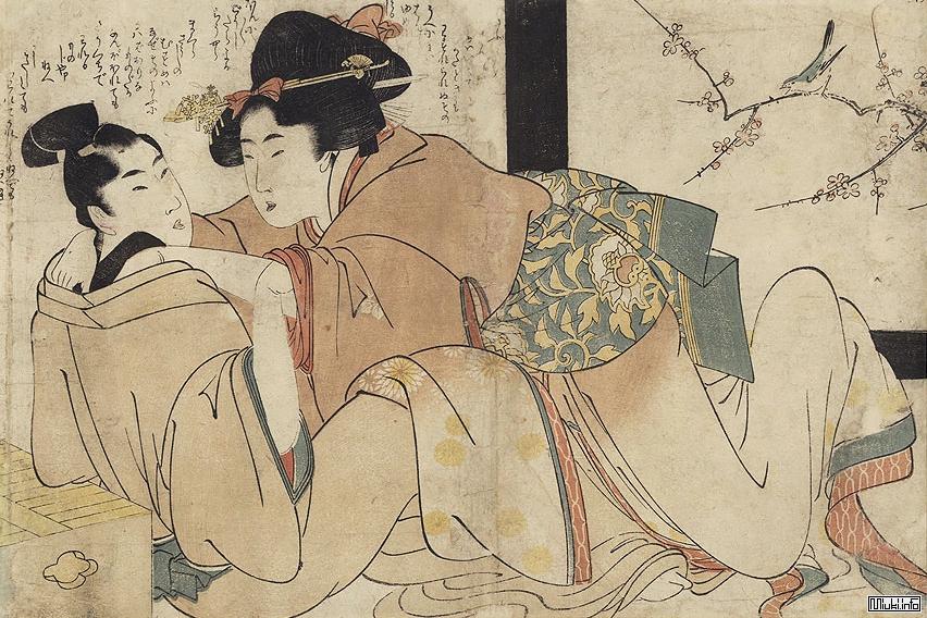 Секс в японском искусстве
