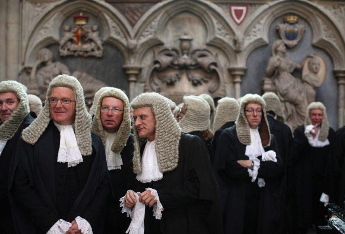 Британские судьи