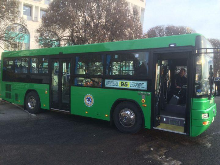 Автобус Ютонг, Алматы