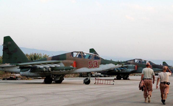 Су-25 в Сирии