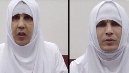 исламисты в хиджабах