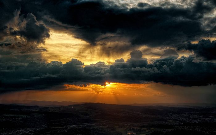 штормовое небо
