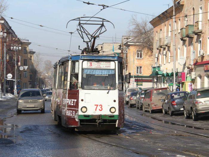 трамвай усть-каменогорск