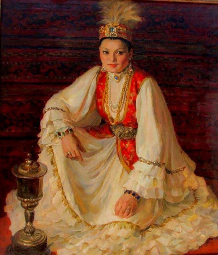 Портрет Розы Баглановой