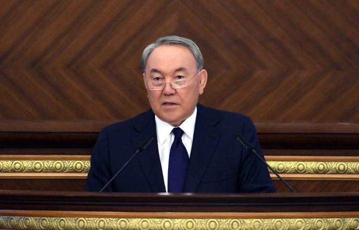 Нурсултан Назарбаев. Фото: пресс-служба Акорды