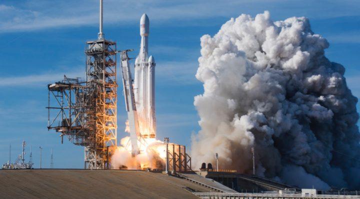 SpaceX запуск ракеты
