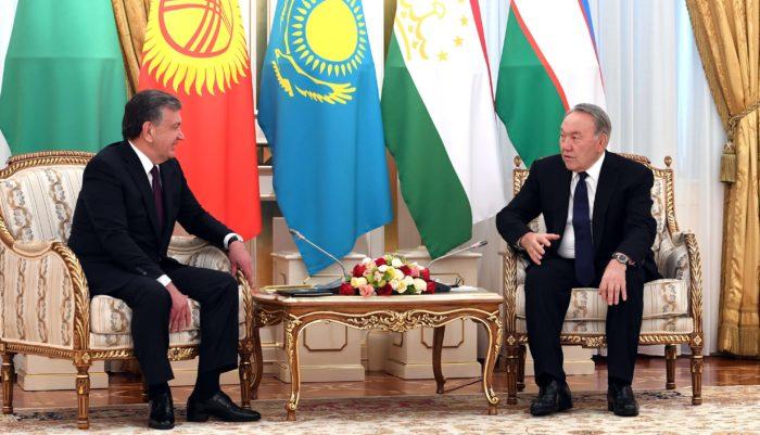назарбаев мирзиёев
