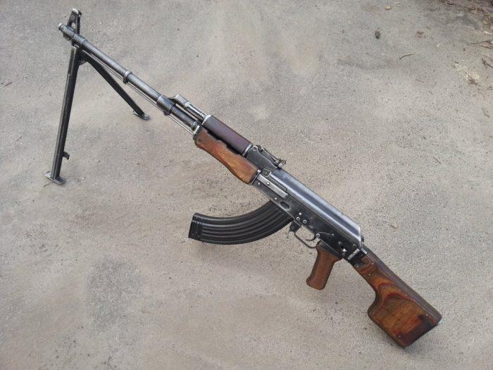 ручной пулемет калашникова