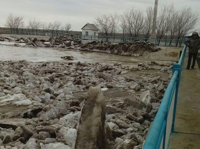 сырдарья ледоход