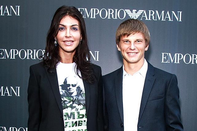 Алиса и Андрей Аршавины. Источник: nasha.lv