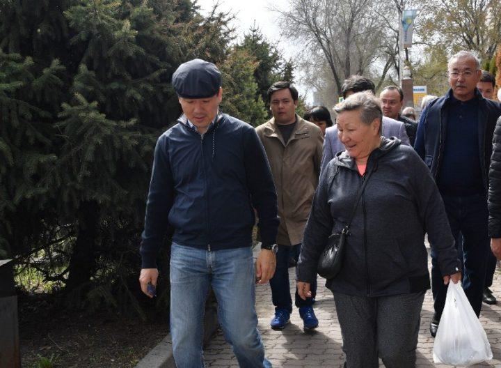 Байбек. Фото: пресс-служба акимата Алматы