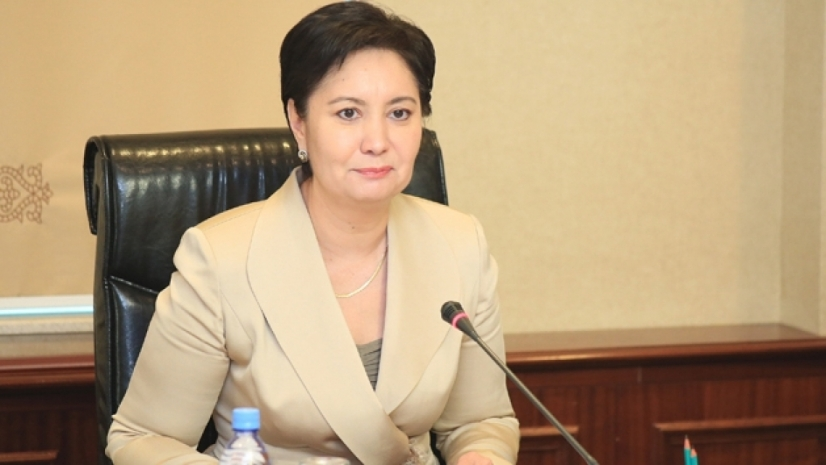 F - Abdykalikova has chaired a parliamentary Committee