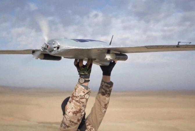 ИГИЛ, беспилотник. Источник: breakingnews.sy