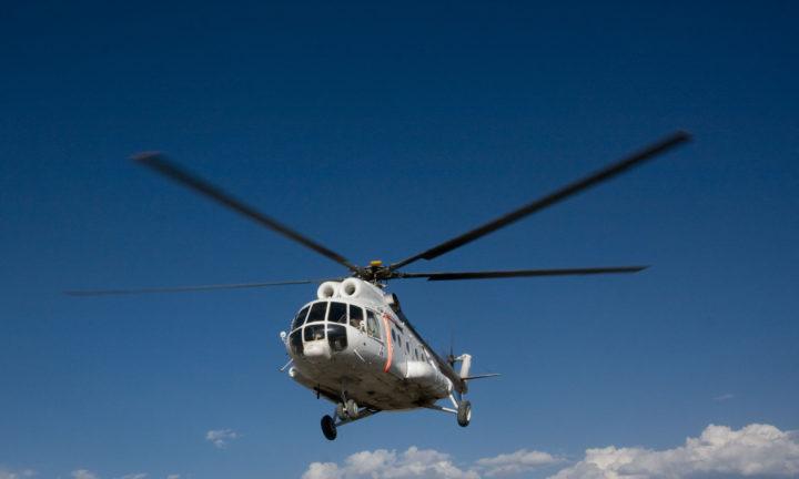 Ми-8 вертолет