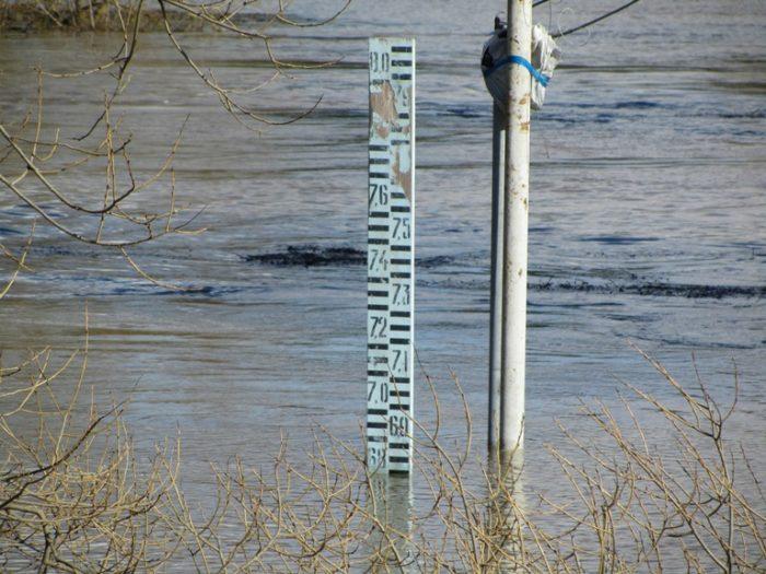 гидропост уровень воды