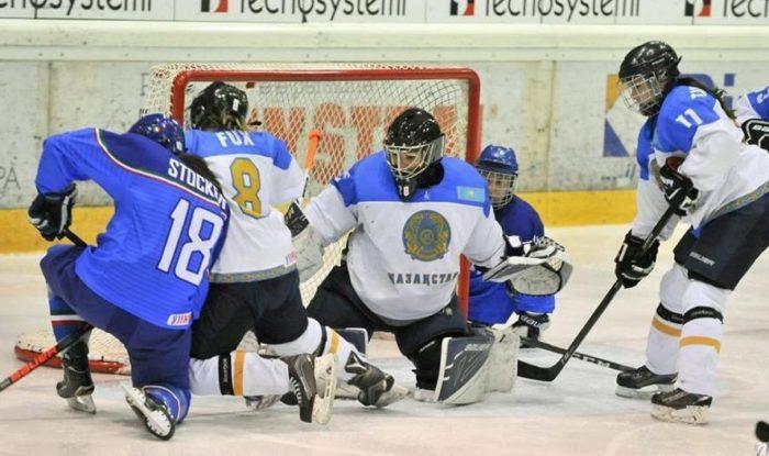 казахстанские хоккеистки