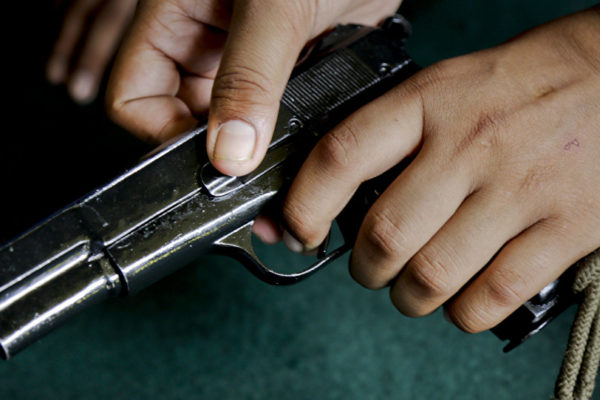 pistolet 600x400 - The investigation of a gang attack near Almaty gave unexpected results