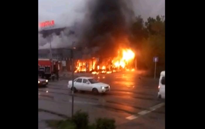 пожар в донерке