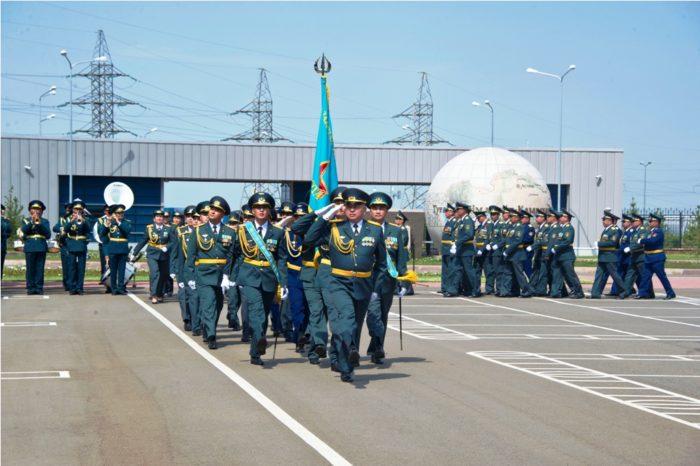 выпуск офицеров университета обороны