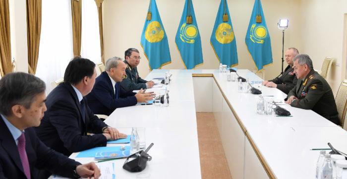 назарбаев шойгу
