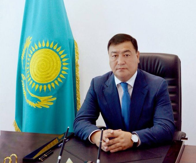 Дастан Шалтабаев. Фото: пресс-служба акимата Алматинской области