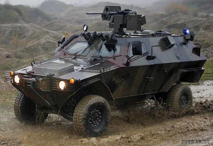 Бронеавтомобиль Otokar Cobra. Источник: zonwar.ru
