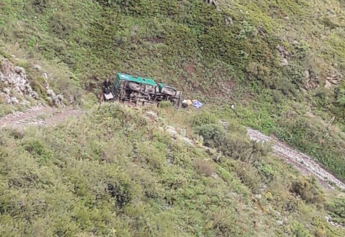 текели перевернулась машина с туристами