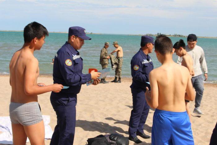 спасатели пляж купание