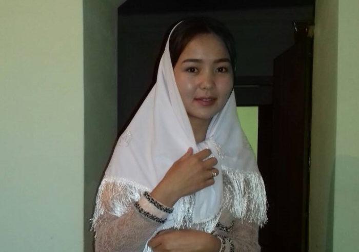 Убитая похитителем кыргызская девушка