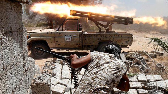 армия ливия арабы