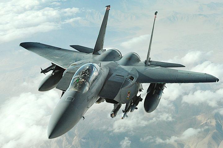 F-15 Eagle. Фото: U.S. Air Force photo