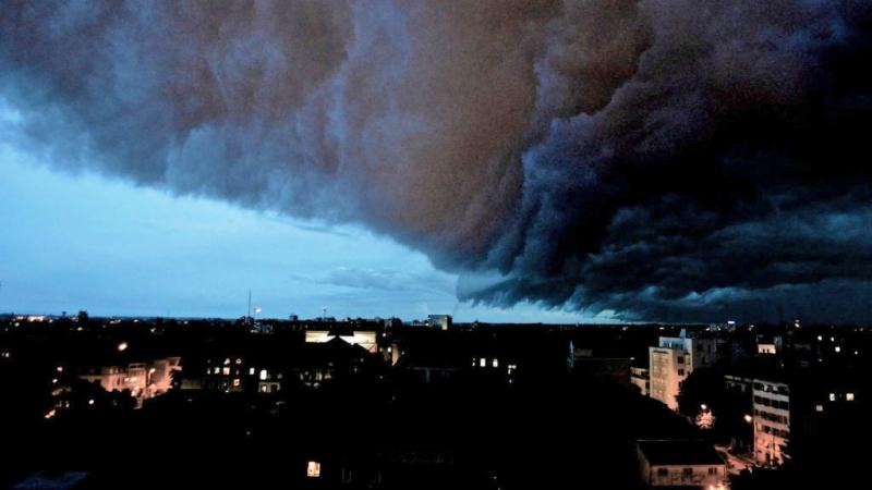 гроза буря шторм