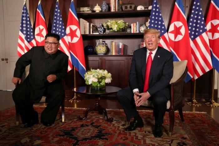Трамп Ким
