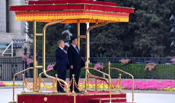 назарбаев китай
